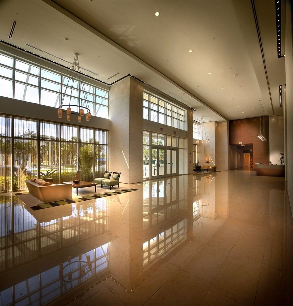 Classic Elegant Lobby Modern Architecture daylighting lighting home headquarters tourist attraction professional hall tiled