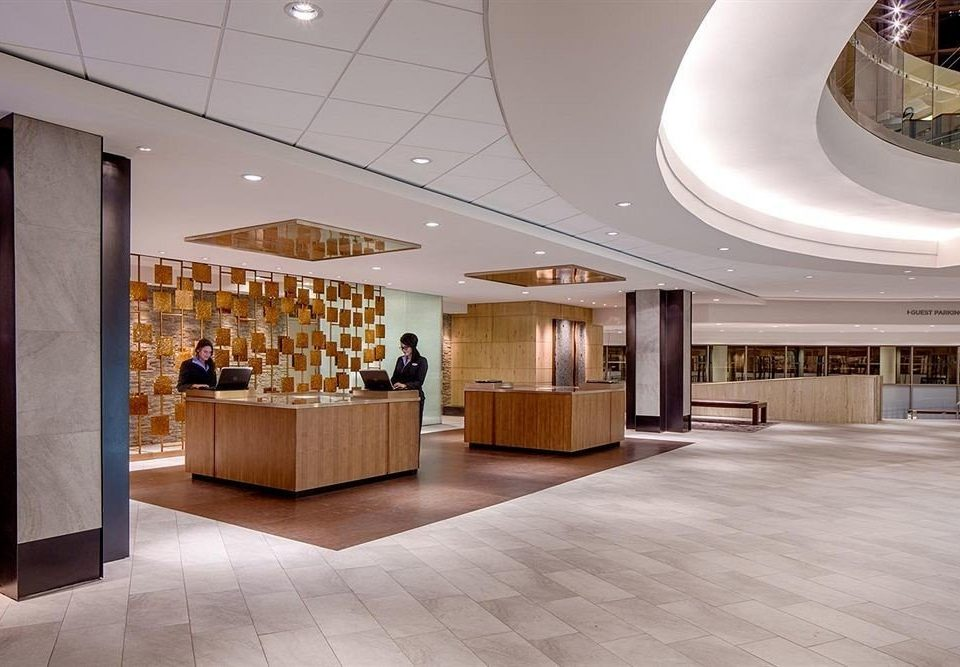 Classic Lobby Lounge Resort building Architecture headquarters retail convention center receptionist