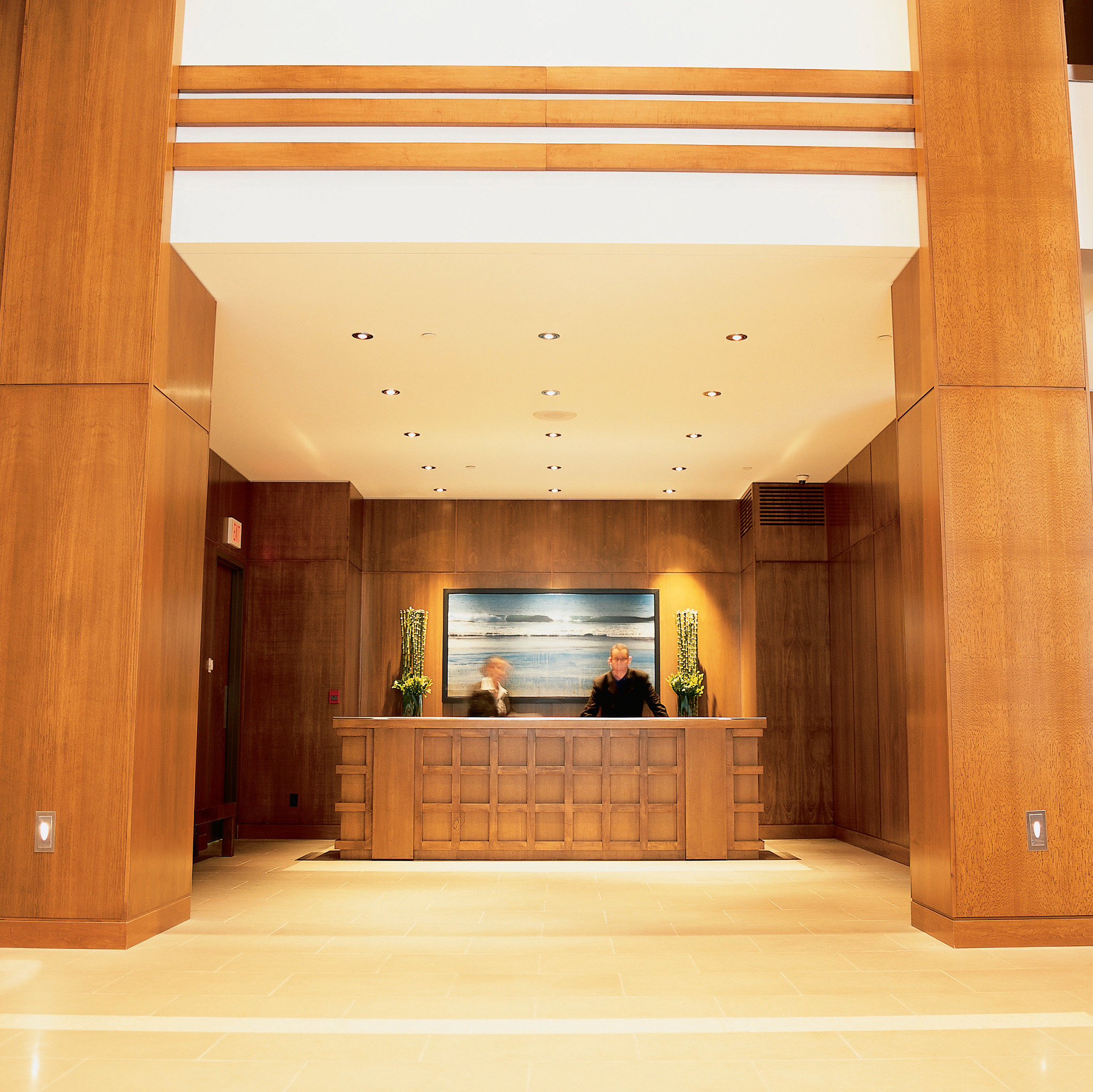 Classic Lobby Resort property Architecture house hardwood home wooden cabinetry living room
