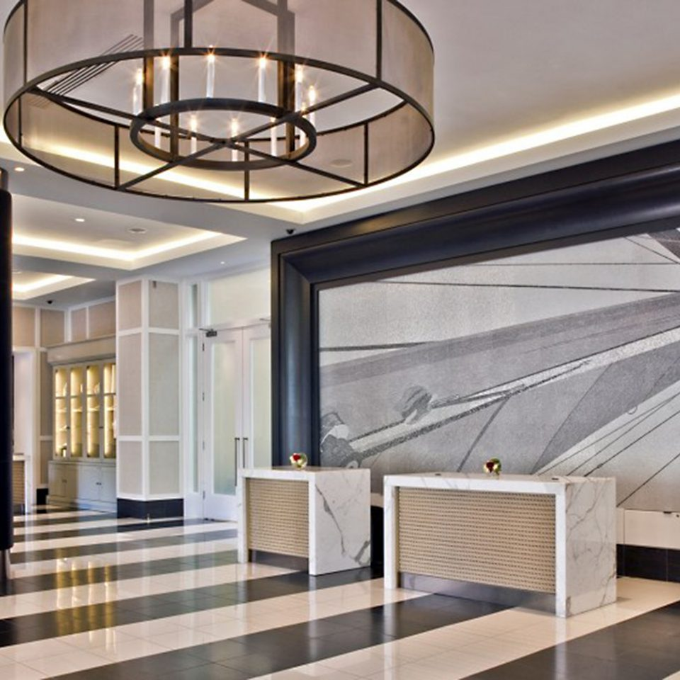 Classic Lobby Waterfront daylighting Architecture lighting