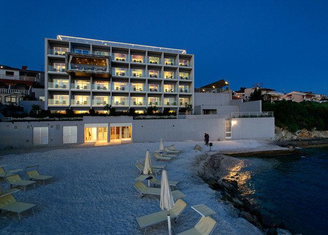 sky Architecture dock marina Coast Sea condominium tower block apartment building Resort
