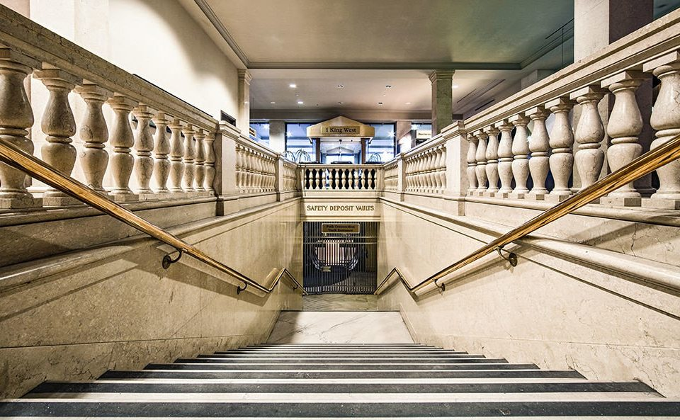transport stairs Architecture public transport symmetry step colonnade