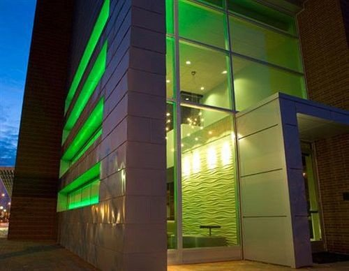 color commercial building Architecture lighting glass headquarters