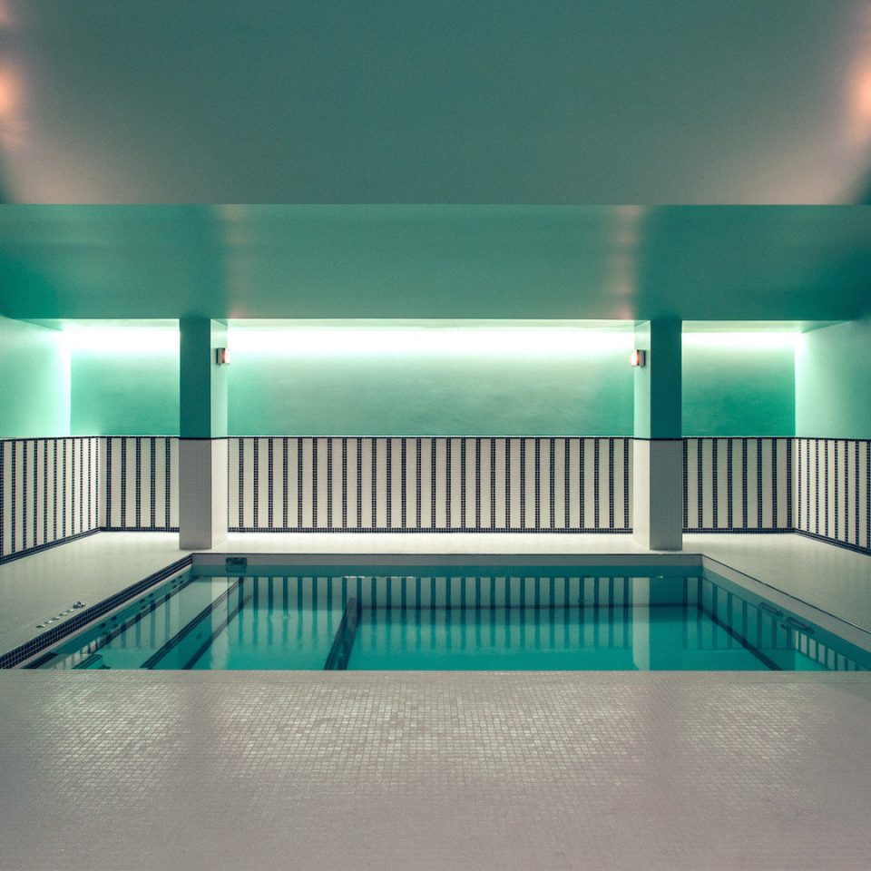 color light Architecture leisure centre green swimming pool lighting headquarters professional