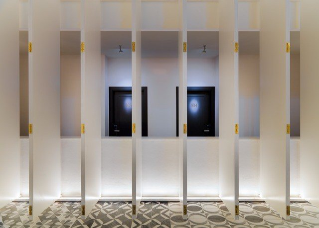 Architecture white glass lighting door flooring colored