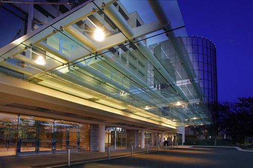 metropolitan area Architecture lighting headquarters convention center public transport empty