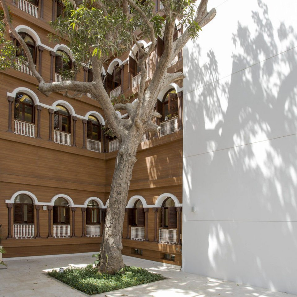building property house Architecture home Courtyard mansion hacienda palace arch