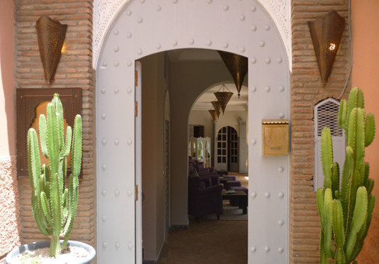 green building floristry Architecture arch home flower hacienda Courtyard