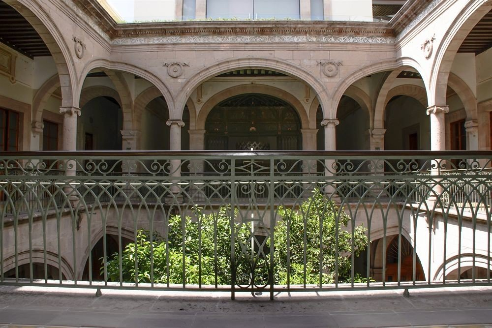 building Architecture palace Courtyard arch colonnade court walkway