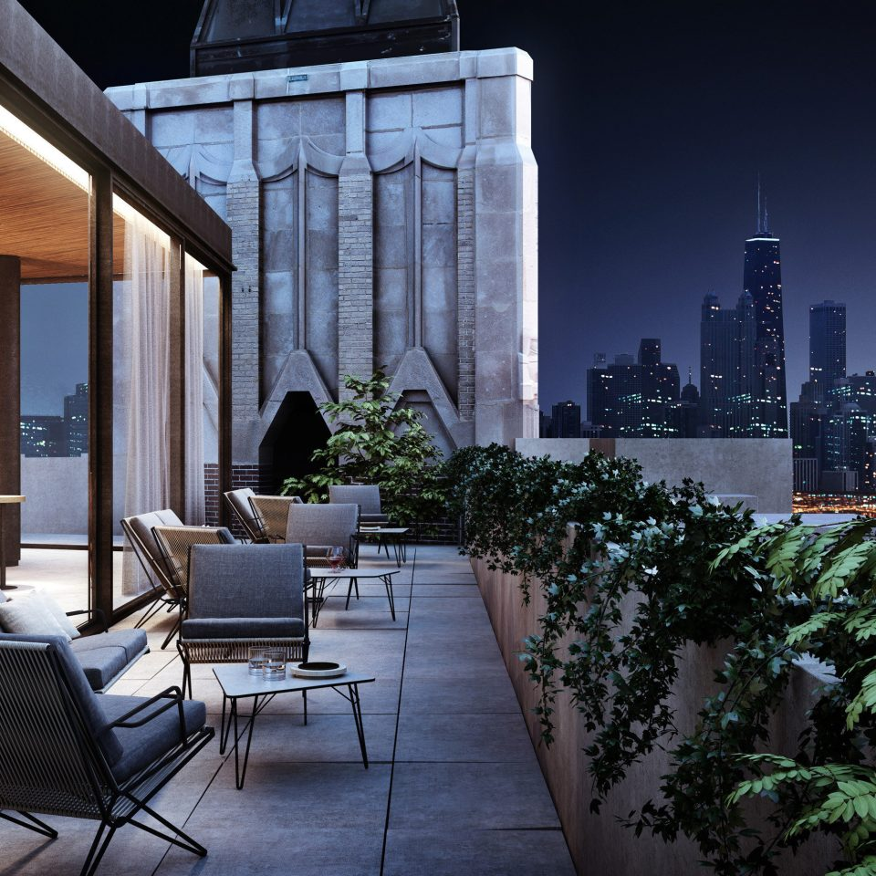 chair building house Architecture condominium home lighting outdoor structure professional Courtyard backyard