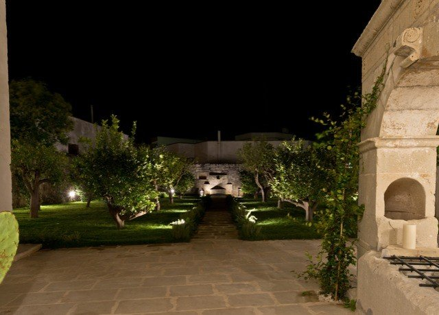 building house Courtyard green Architecture mansion lighting home hacienda landscape lighting stone