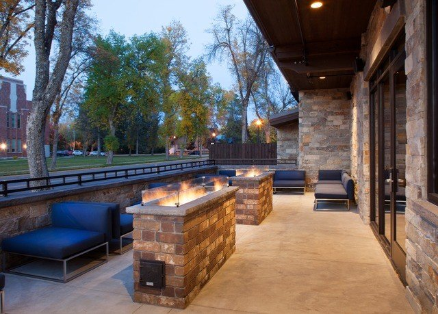 tree building Architecture home Courtyard stone