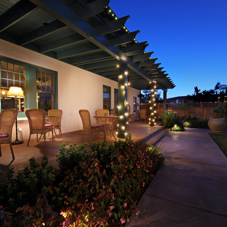 Dining Inn Lodge Patio Romantic night Resort Architecture home Lobby hacienda mansion Courtyard