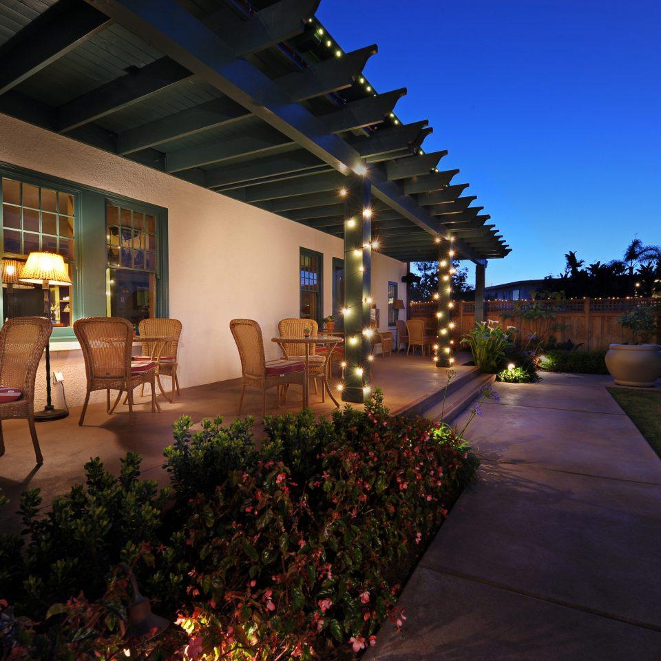 Dining Inn Lodge Patio Romantic night Resort Architecture home Lobby hacienda mansion Courtyard