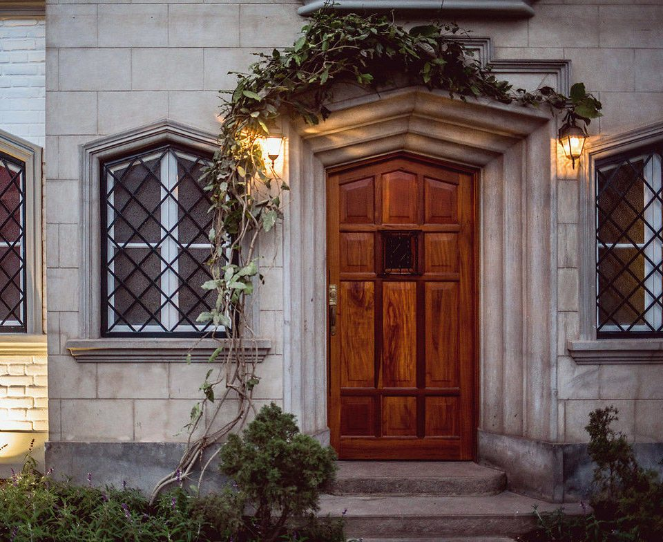 door house home Architecture porch mansion Courtyard outdoor structure stone