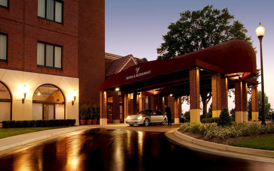 sky building Architecture night house home plaza Downtown Resort Courtyard
