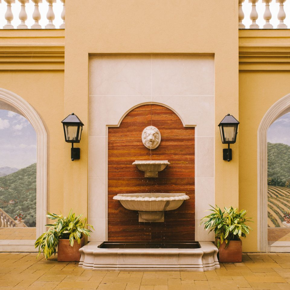 property arch home house Architecture living room hacienda Villa mansion Fireplace porch cottage Courtyard farmhouse