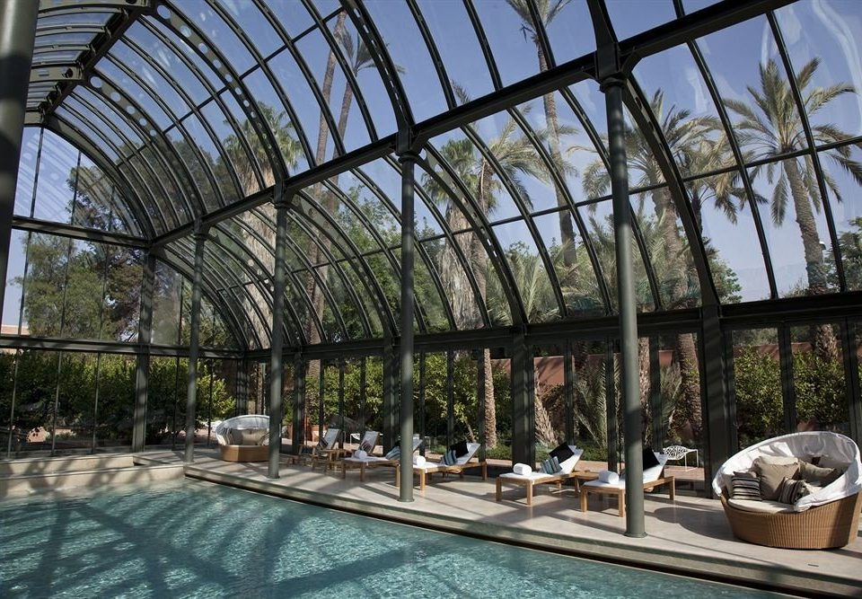 building leisure swimming pool Architecture Resort outdoor structure Courtyard orangery backyard Garden court
