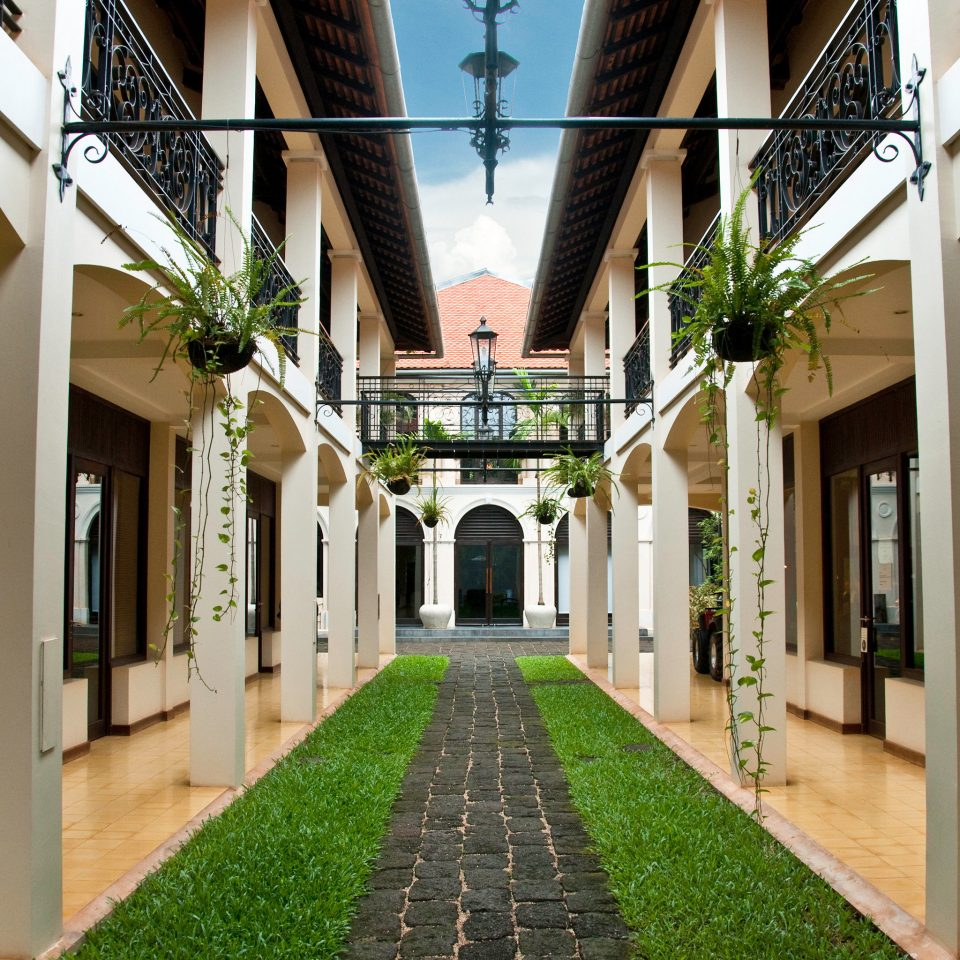 Architecture Grounds Luxury Resort building neighbourhood Courtyard Lobby mansion palace colonnade