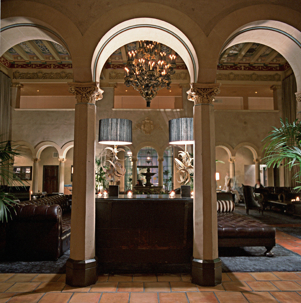 Architecture Historic Lobby Lounge Luxury building arch mansion palace home Courtyard living room hall colonnade