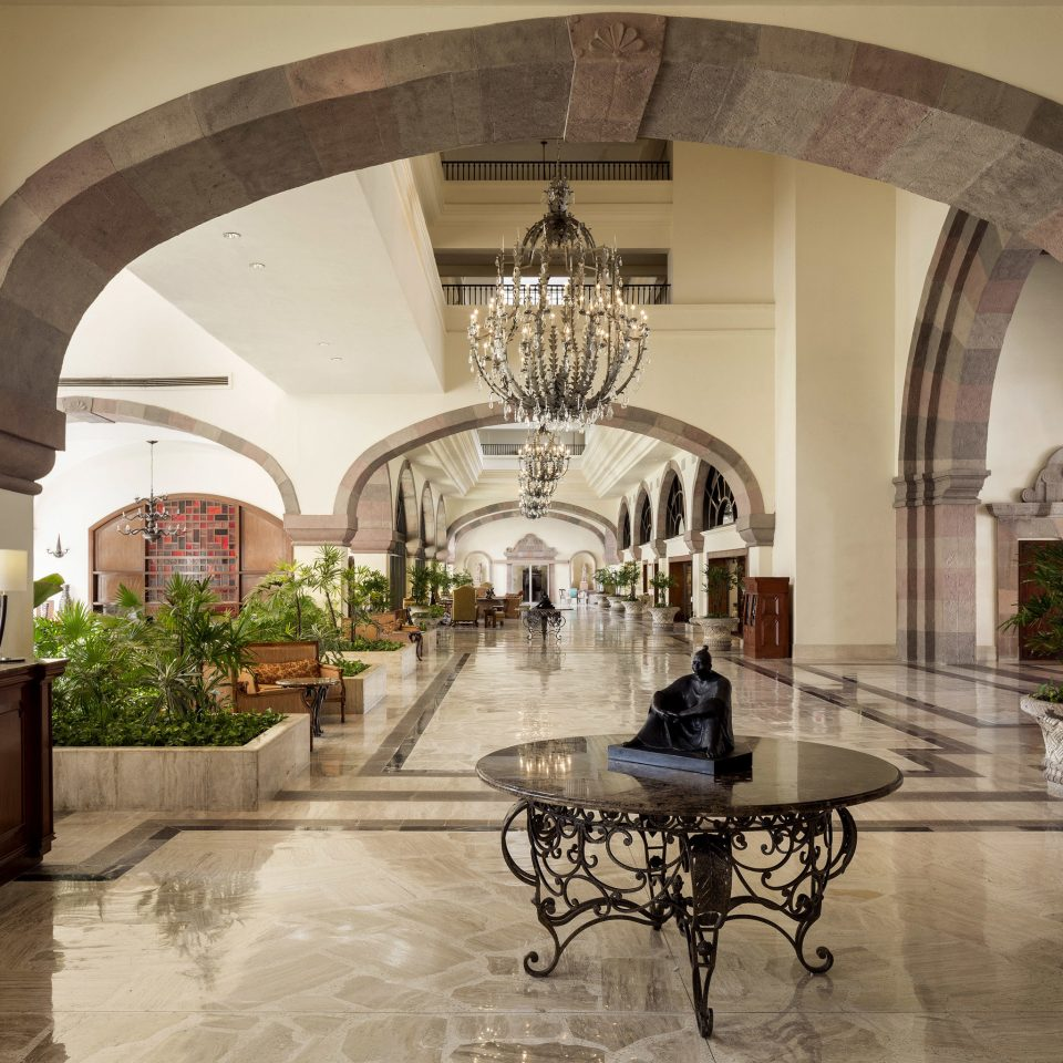 property Lobby Architecture mansion Courtyard home lighting arch living room palace hall