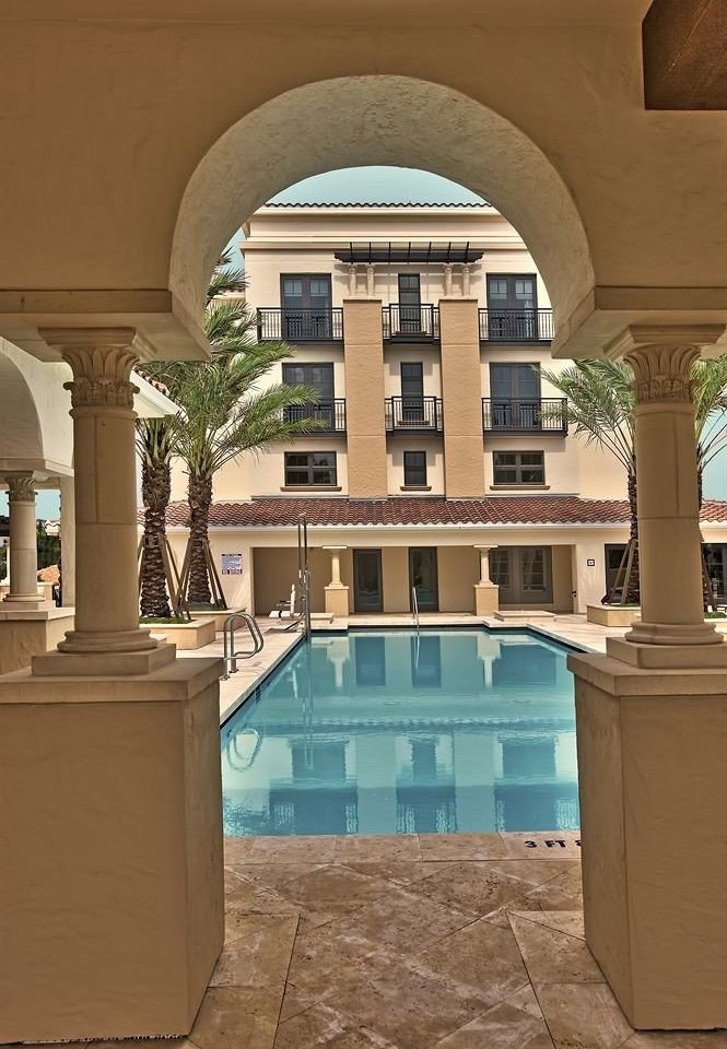 building Architecture Lobby arch mansion palace home Courtyard column court colonnade