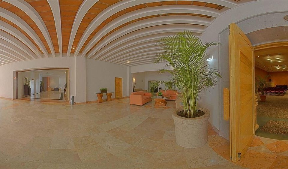 building Lobby property house Architecture hacienda home mansion arch Courtyard Villa palace hall tourist attraction orange plant colonnade