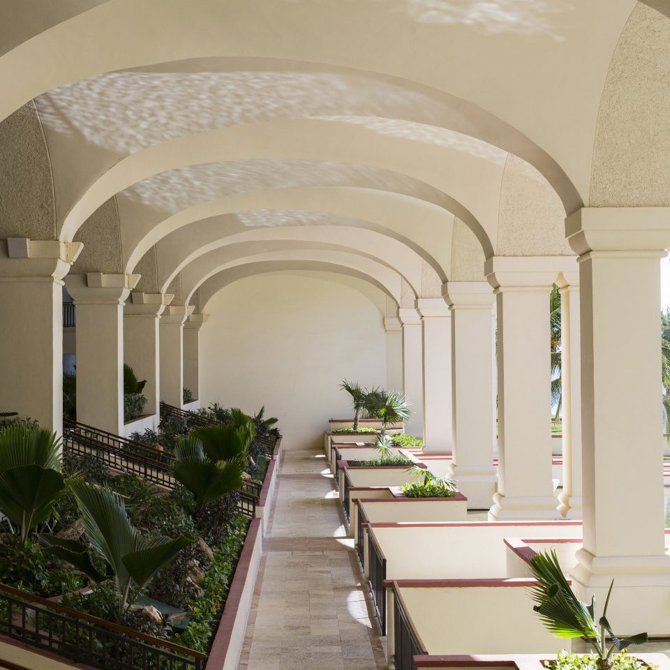 building property arch Architecture plant mansion home Courtyard Lobby palace Villa long court colonnade