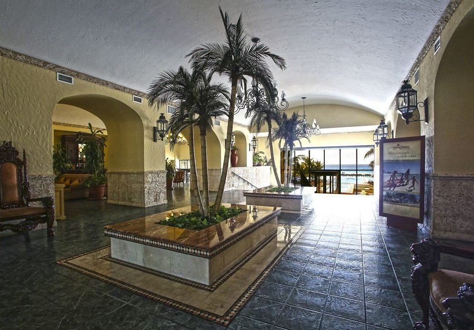 property building Lobby house Courtyard Architecture home mansion hacienda Villa stone colonnade