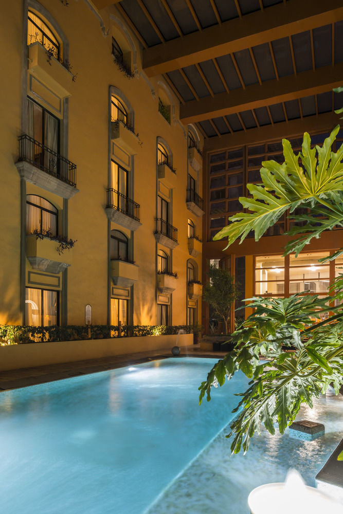 building swimming pool Architecture house Courtyard condominium home lighting Resort plaza mansion