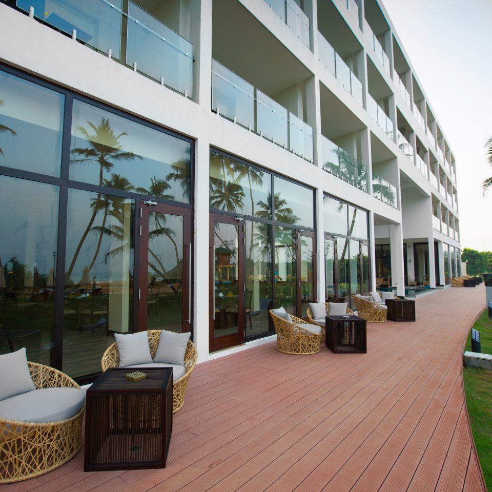 property condominium building house Resort Architecture home Villa Courtyard outdoor structure