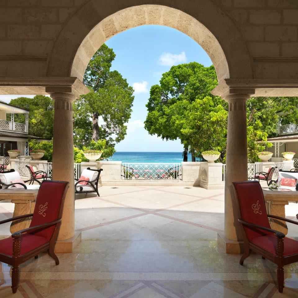building Architecture Resort restaurant arch hacienda home Courtyard Villa palace outdoor structure stone colonnade