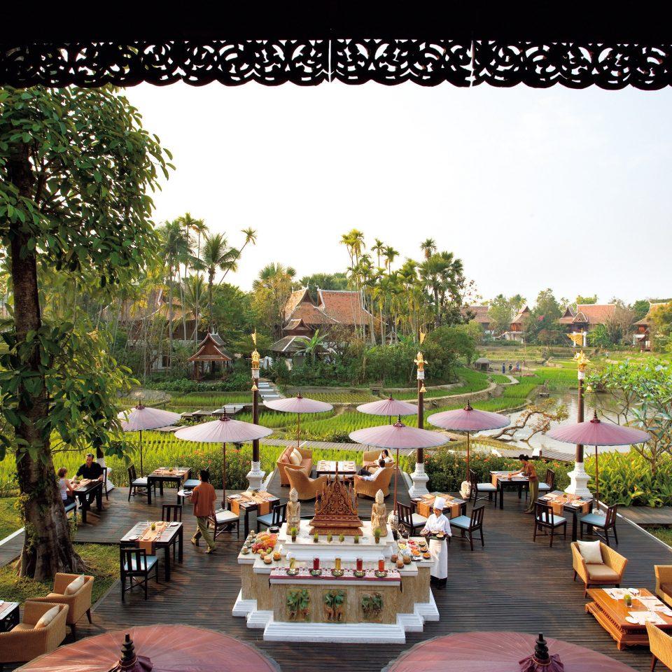 Architecture Cultural Grounds Luxury Resort Scenic views tree leisure Garden flower