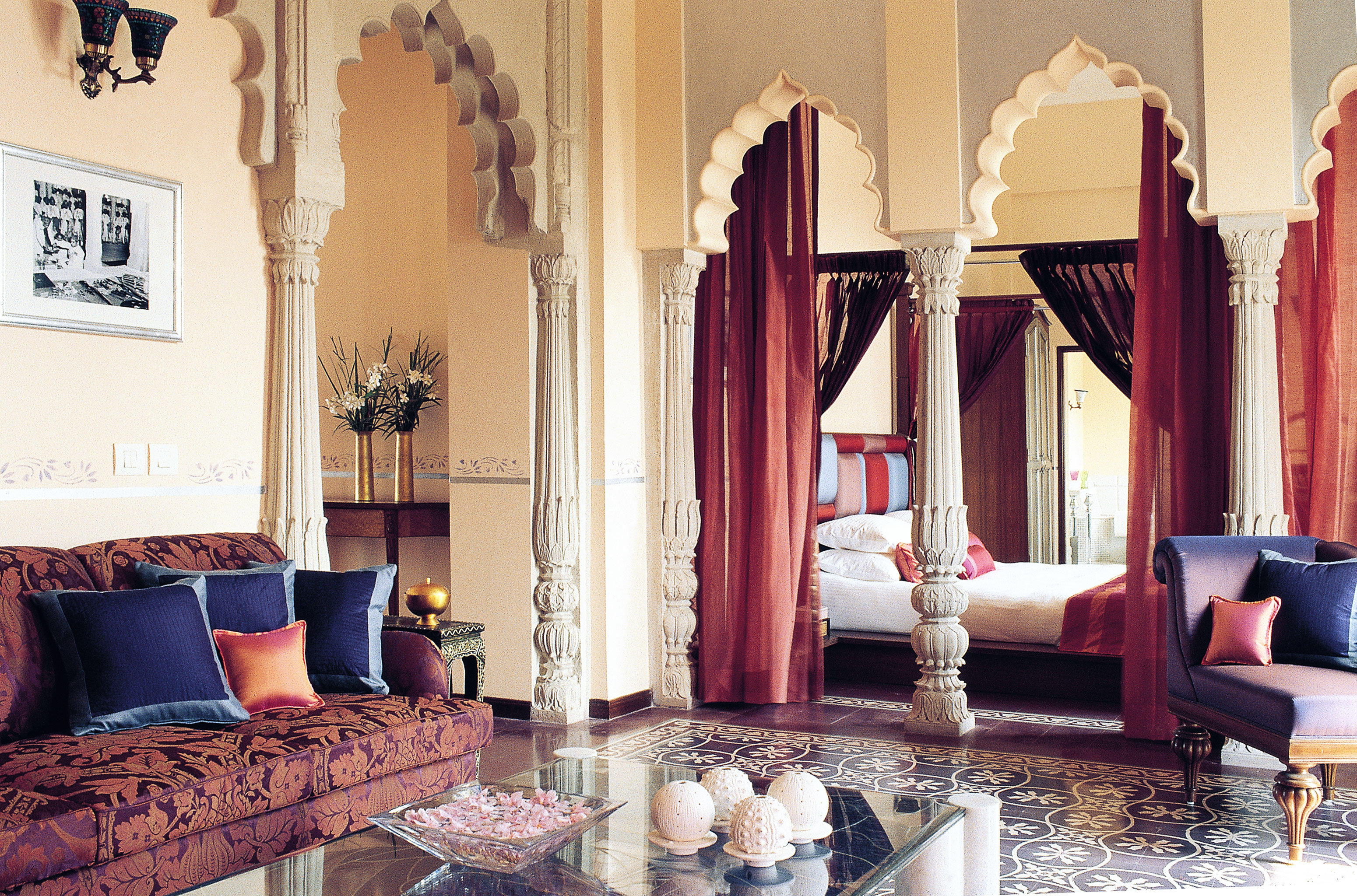 Architecture Cultural Suite living room home curtain textile window treatment mansion