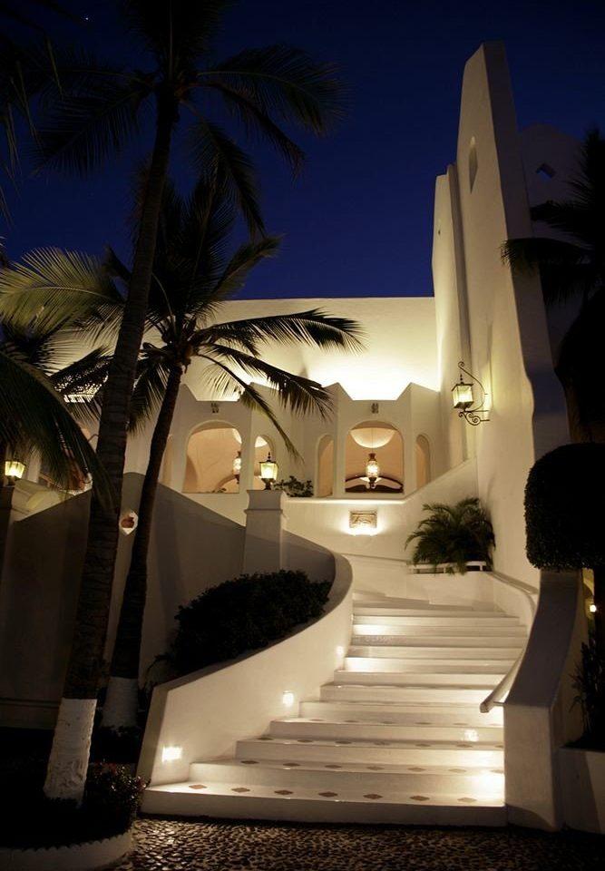night light house Architecture darkness lighting evening sunlight plant