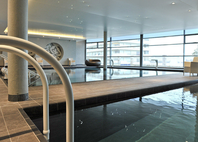 Architecture handrail daylighting swimming pool yacht headquarters