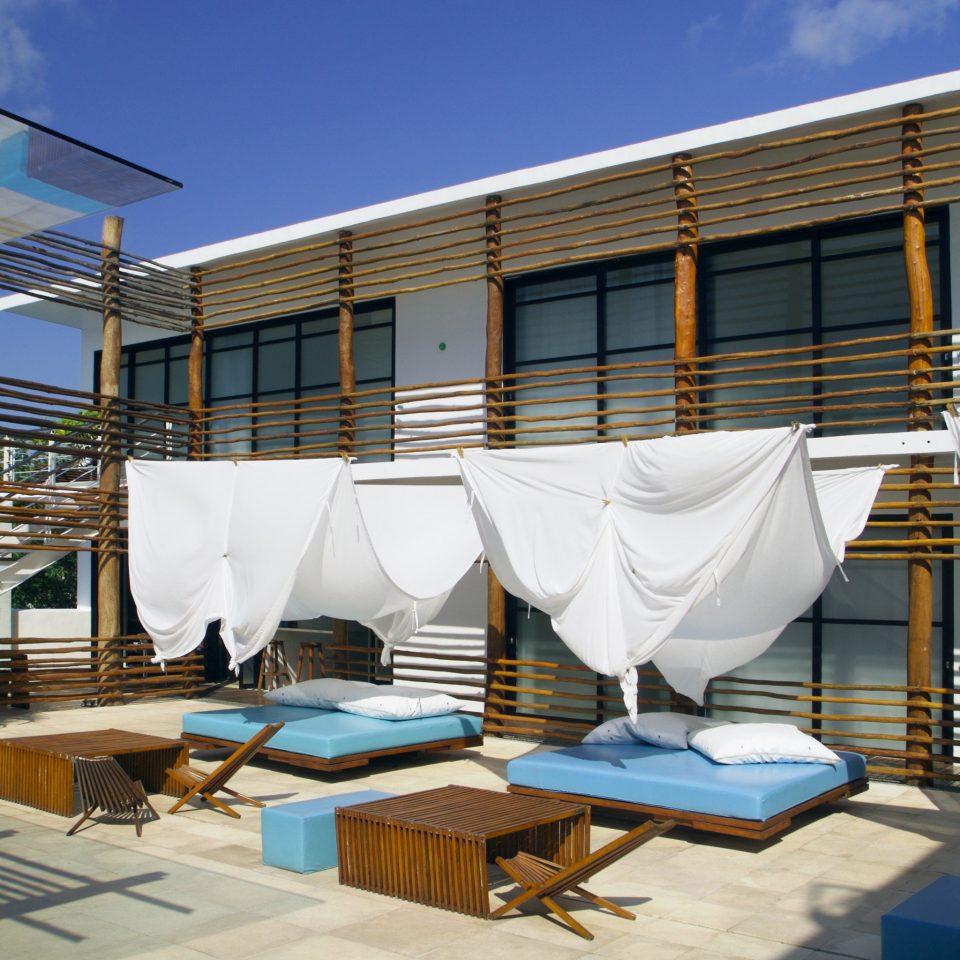Exterior Luxury Modern sky house Architecture swimming pool home Resort condominium Villa Deck