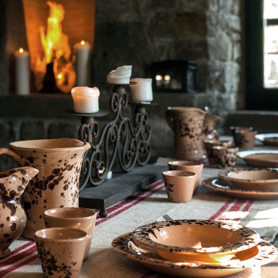 Architecture Dining Historic Honeymoon Romance Romantic Rustic Wellness breakfast dining table