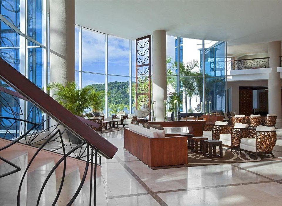 building property condominium Lobby Architecture home living room Villa Dining mansion Resort porch Modern