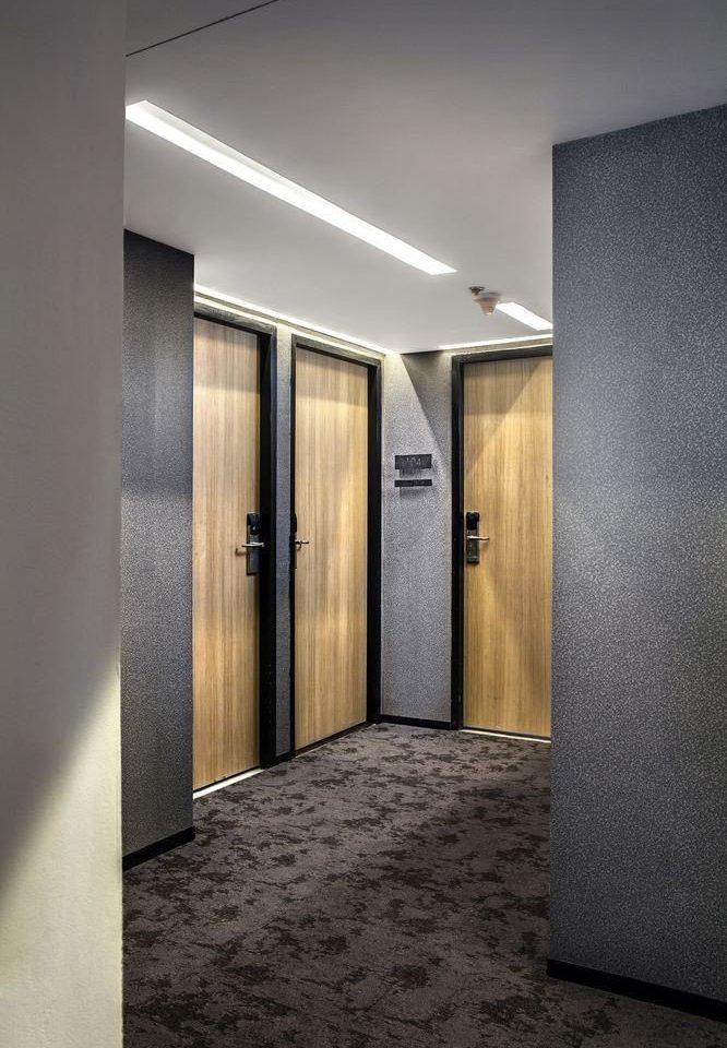 Architecture lighting door hall plumbing fixture flooring