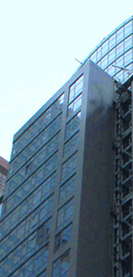 blue tower block skyscraper computer Architecture Downtown headquarters line file