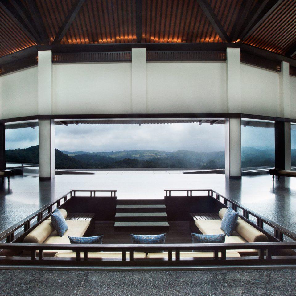 Elegant Forest Lobby Lounge Luxury swimming pool Architecture sport venue daylighting yacht auditorium