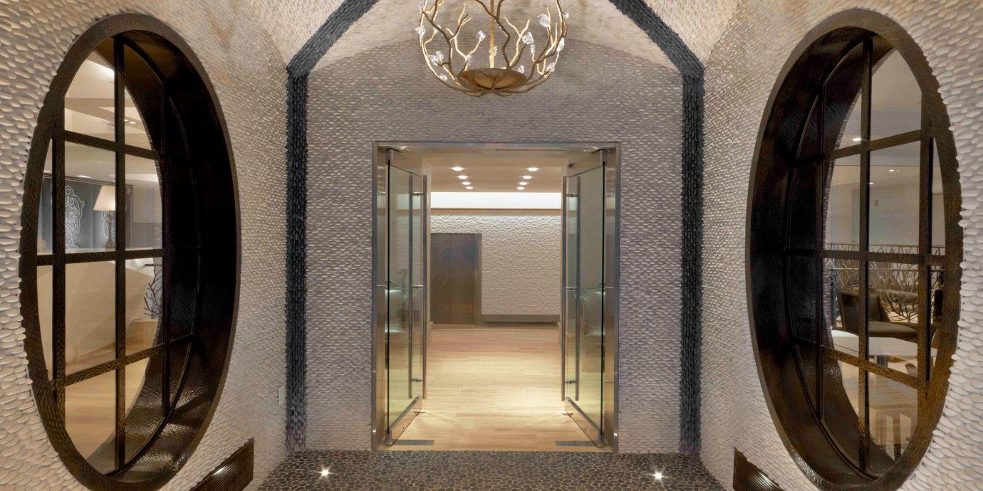 Elegant Lobby Modern property Architecture home arch mansion hall door stone