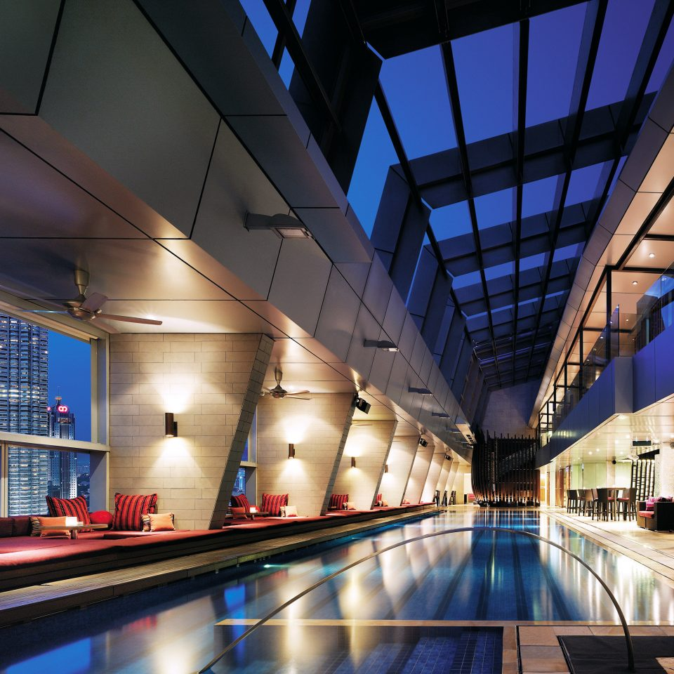 Elegant Lounge Luxury Modern Pool transport building Architecture public transport airport terminal infrastructure metro station convention center headquarters