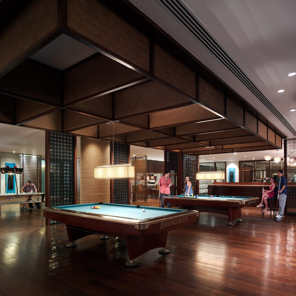 Entertainment Family Nightlife Play Resort recreation room billiard room Lobby building Architecture lighting