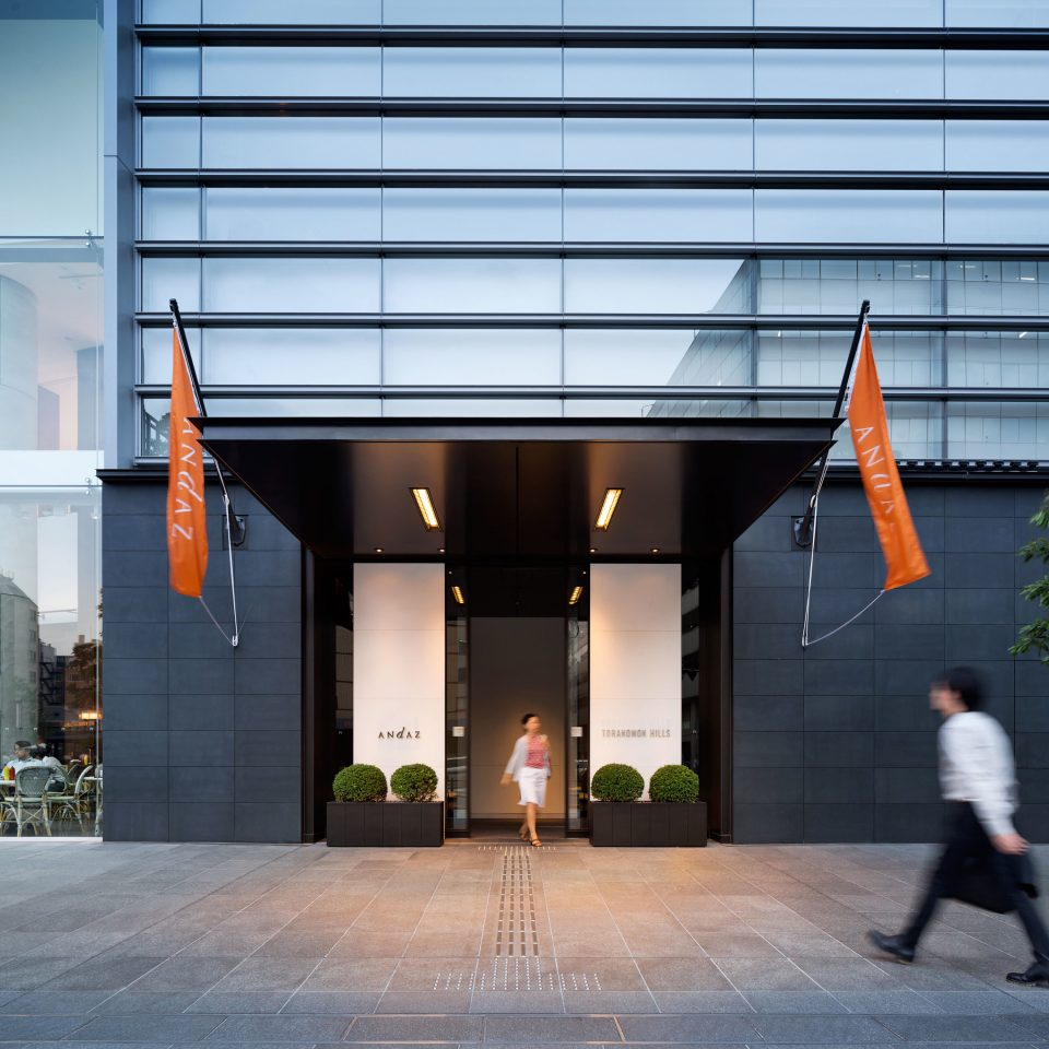 Exterior Luxury Modern building Architecture headquarters tourist attraction hall sidewalk
