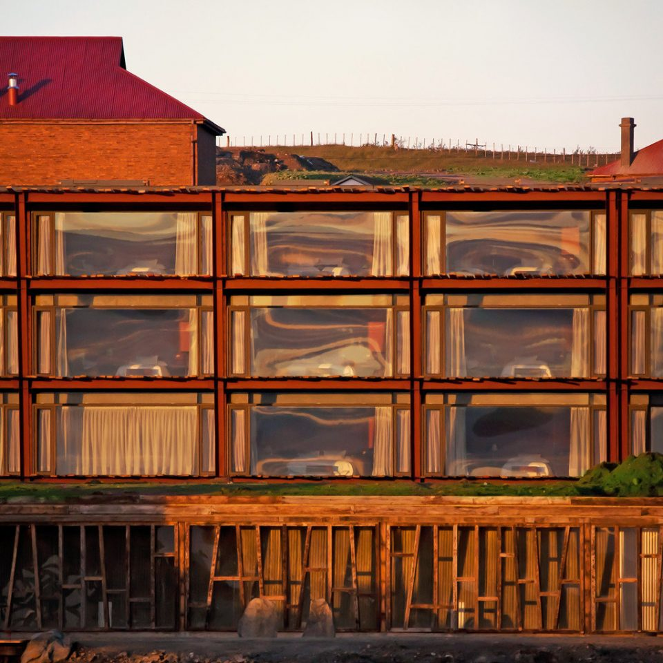 Exterior Rustic Sunset color house building Architecture evening