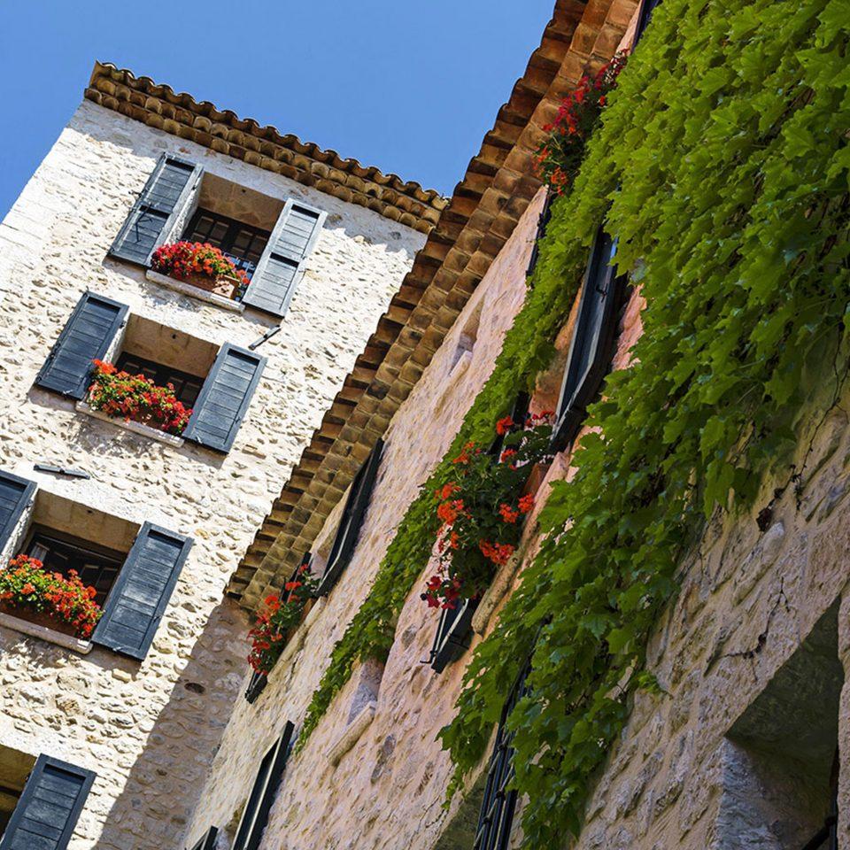 Architecture Exterior landmark Town Village tower colorful