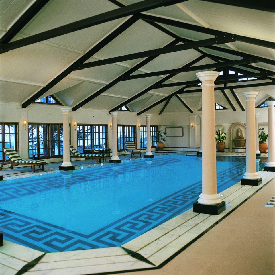Family Luxury Play Pool leisure swimming pool Architecture leisure centre outdoor structure Resort empty walkway lined