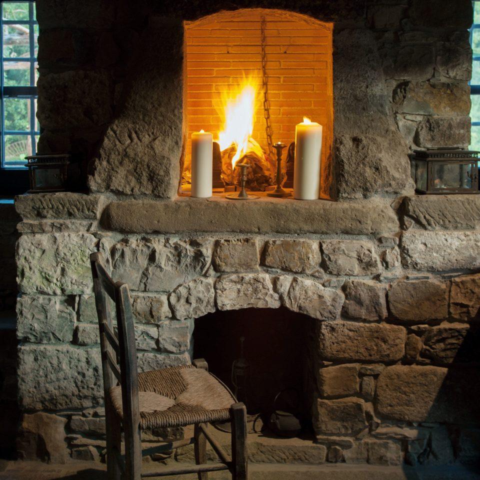 Architecture Fireplace Historic Honeymoon Romance Romantic Rustic Wellness building stone brick house ancient history hearth lighting temple